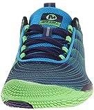 Merrell VAPOR GLOVE 2, Herren Outdoor Fitnessschuhe, Blau (RACER BLUE/BRIGHT GREEN), 43 EU - 4