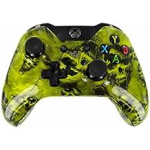 "Screaming Skulls in Yellow"" Xbox ONE Custom UN-MODDED Controller Exclusive De..."