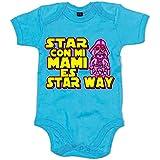 Body bebé Star Wars estar con mi mami es Star Way Darth Vader