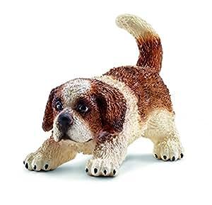 Schleich - 16834 - Figurine Animal - Chiot Saint Bernard