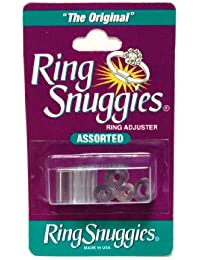 Ring Too Big? Ring Snuggies Plastic Adjuster Ring Clip by Ring Snuggies