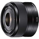 Sony SEL-35F18 Obiettivo a Focale Fissa 35 mm F1.8, Mirrorless APS-C, Attacco E, SEL35F18