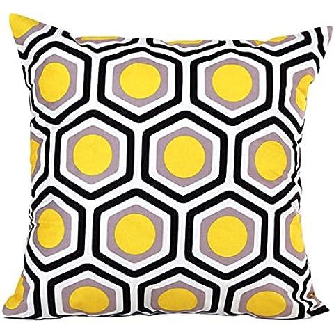 Toraway Brillante Forma geométrica Sofá cama Home Decor Funda de almohada fundas de colchón
