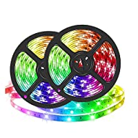 Smart WIFI LED Strip Lights 10 meter 600led Color Changing Rope Lights RGB Wifi APP Aleax Google Music Apply for Home Kitchen Decoration