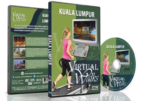 Passeggiate Virtuali - Kuala Lumpur - Per Passeggiate Interno, Tapis Roulant E Allenamenti in Bicicletta