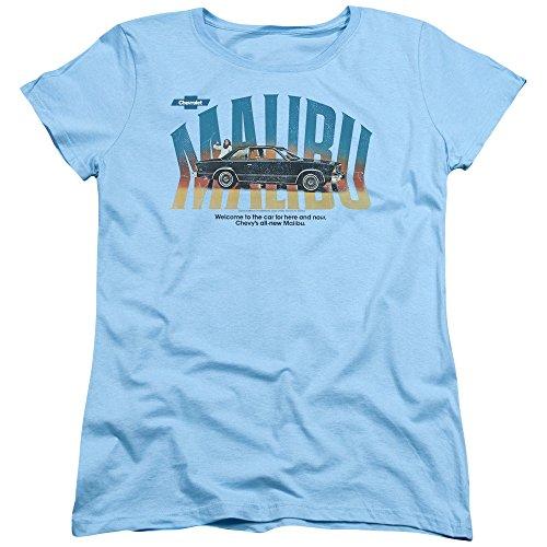 chevrolet-automobiles-chevy-vintage-malibu-ad-womens-t-shirt-tee