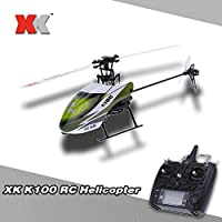 XK Falcon K100 6CH 3D 6G sistema RTF elicottero RC