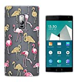 c01347 - Collage Flamingo Pink & Gold Design Oneplus Two 2