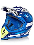 Airoh Tony Cairoli Mx Helm Aviator 2.2 Ottobiano Blau (Medium, Blau)