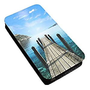 Bilderrahmen, personalisiert für Apple Iphone 4/4S, aus Leder/Flip Case