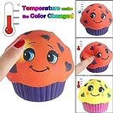 TAOtTAO Temperatur Farbwechsel langsam Steigende duftende Squeeze Spielzeug Reliever Stress Geschenk