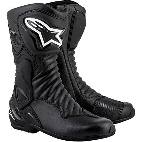 Alpinestars Motorradstiefel SMX-6 V2 GORE-TEX Stiefel wasserdicht schwarz Größe 44