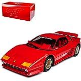 GT Spirit Ferrari 512 BB i König Specials Turbo Coupe Rot 1976-1984 Nr 165 1/18 Modell Auto mit individiuellem Wunschkennzeichen