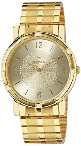 51bMq5Ke8mL - Titan 1639YM04 Silver Men watch