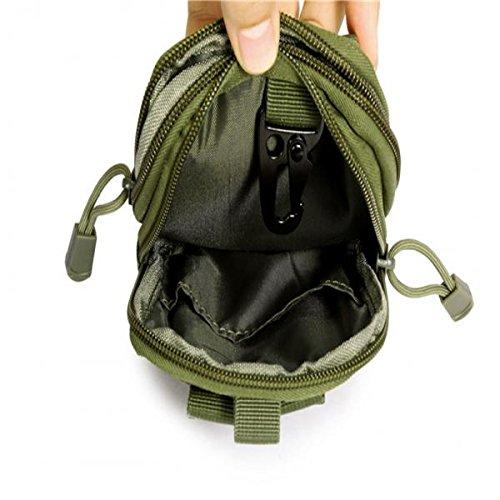 Taktische Militärische Hüfttasche, hohe Qualität, für Reisen Sport Armeegrün
