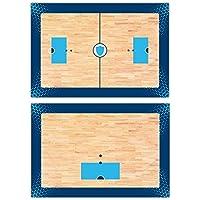 Haberdashery Online Pizarra Deportiva Doble Cara Táctica. Hockey Patines. Tabla de Entrenamiento Personalizada Logotipo Equipo