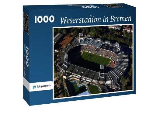 Preisvergleich Produktbild Weserstadion in Bremen - Puzzle 1000 Teile mit Bild von oben