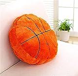 YunNasi 45cm Kreative Basketball Kissen Niedliches Ball Plüsch Spielzeug Puppe