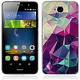 Funda Huawei Enjoy 5, Funda Huawei Y6 Pro - Fubaoda - 3D Realzar, Fantasía Patrón, Gel de Silicona TPU, Fina, Flexible, Resistente a los arañazos en su parte trasera, Amortigua los golpes, funda protectora anti-golpes para Huawei Enjoy 5 / Y6 Pro