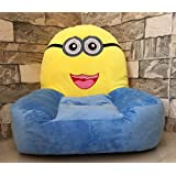 Trendy Kids Cool Plush Sofa For Kids To Have There Own Sitting Spot Anywhere In House Best Gift For Kids (Minion Bob Baby Sofa Chair)