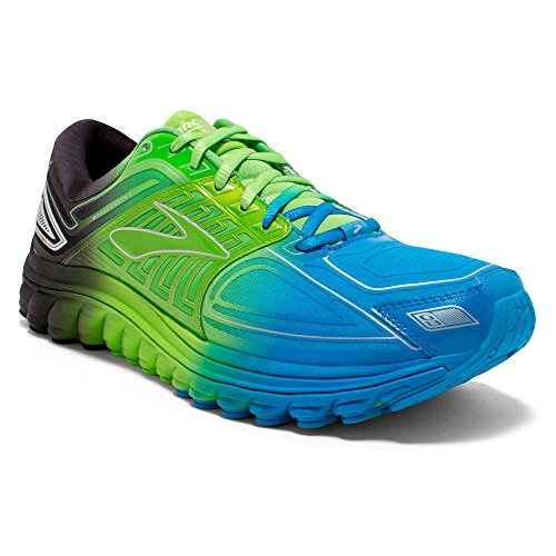 Brooks Glycerin 13 Men's Neutral Running Shoes - Blue/Flash/Black - 11.5 UK
