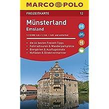 MARCO POLO Freizeitkarte Münsterland, Emsland 1:110 000
