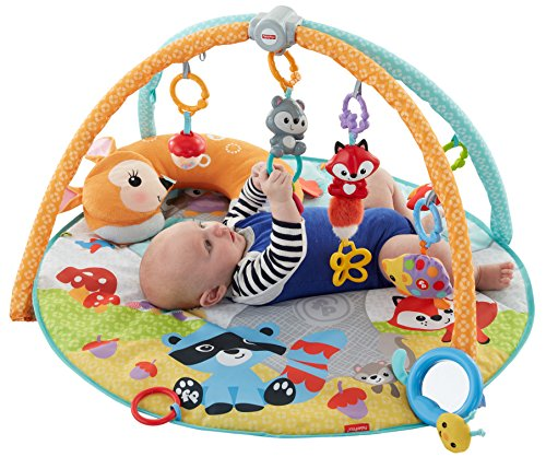 FISHER PRICE MOONLIGHT MEADOW DELUXE BABY GYM / PRADO LUNA BEBE GIMNASIO DE LUJO