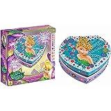 Orb Factory ORB11154 - Loisirs Créatifs - Boite à Bijoux Disney Fée Clochette - Sticky Mosaiques Autocollantes aux Numéros