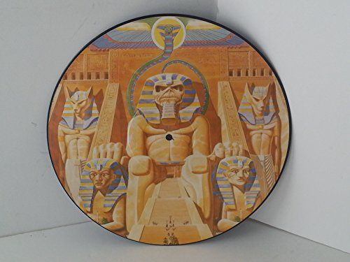 IRON MAIDEN powerslave, POWER P1, picture disc (Iron Maiden Picture Disc Vinyl)