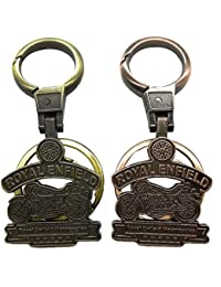 Kolossalz Bike Keychain For Royal Enfield Bullet Cruze Keychain(Set Of 2) For Men Boys Bike