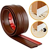 50 mm Wide, Under Door Sweep Weather Stripping Door Bottom Seal Strip Door Draft Stopper(Length 1 Meter)
