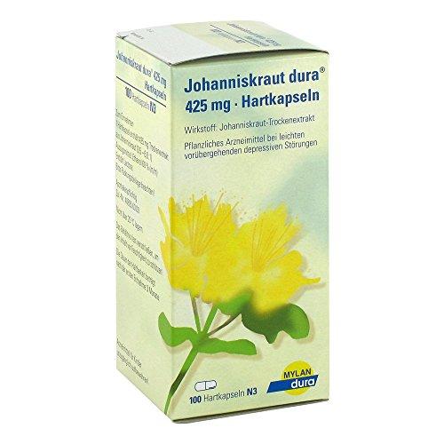 Johanniskraut dura 425mg 100 stk