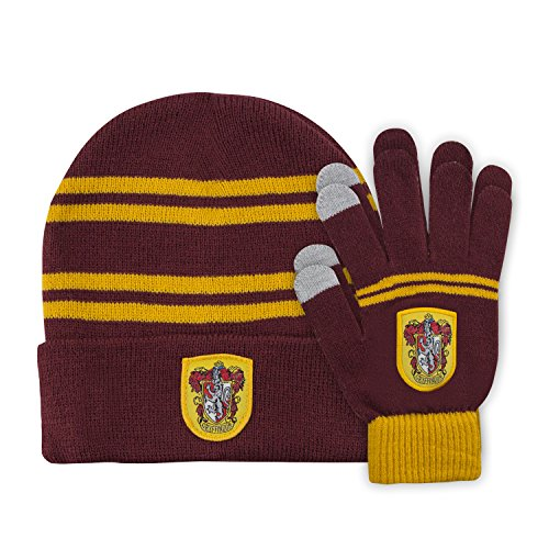 Harry Potter - Set Bonnet & Gants - Enfants - Cinereplicas (Gryffondor)