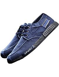 Juleya Zapatos Formadores Ocasionales Para Los Hombres Escotado Lienzo