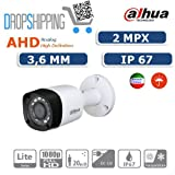 GENERAL TRADERS - TELECAMERA CAMERA AHD DAHUA VIDEOSORVEGLIANZA INFRAROSSI 2 MP 3.6 MM