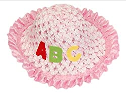 2 MORE Pink ABC Summer Hat for Girls