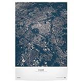 artboxONE Poster 45x30 cm Städte Lille - City Map