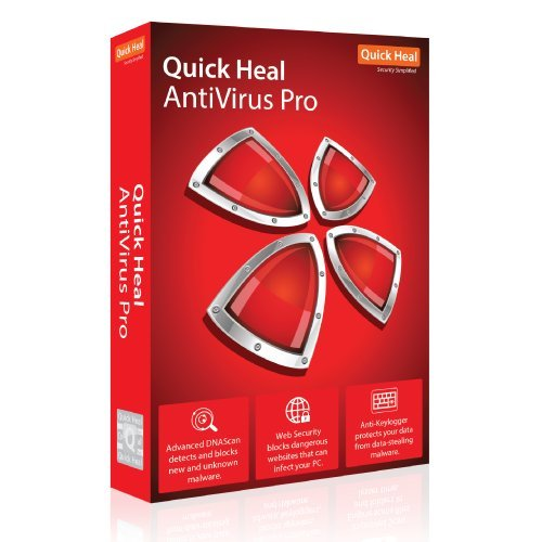 Quick Heal Antivirus Pro - 1 PC, 3 Year (CD/DVD)