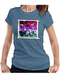 Mirrorpix Willy Wonka and The Chocolate Factory Oompa Loompas On Set Women's T-Shirt