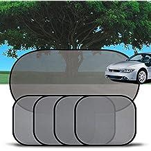 2 x WALSER Sonnenschutz Auto Seitenfenster Auto Schattenspender Sonnenblende