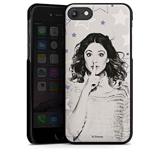Apple iPhone X Silikon Hülle Case Schutzhülle Disney Violetta Merchandise Fanartikel Hard Case schwarz