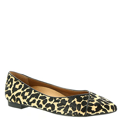 Vionic with Orthaheel Technology donna Caballo piatto Leopard