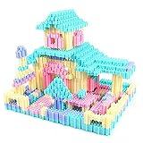 Kunststoff-Spielzeug-Blöcke für Kinderspielzeug-Sets, unendliche Formen und Designs (Color : 450)