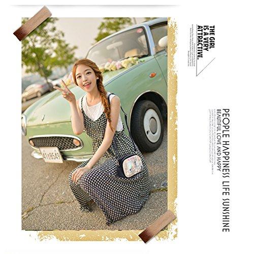 Yoome Niedlich Printing Schultertaschen Preppy Style Cartoon Taschen für College Mini Taschen für Frauen - Kindheit Radzeit