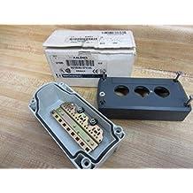 Schneider Electric XALD03 XAL-D Caja Vacía, Plástico, 3 Aperturas Horizontales
