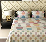 Amethyst Vivid Circles Cotton Double Bed...