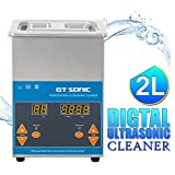 GT SONIC 2L Ultrasonic Cleaner Heated with Adjustable Timer and Heating Function Ultrasonic
