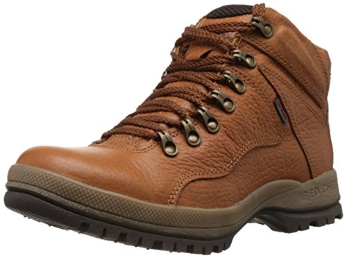 Redchief Men's Elephant Tan Leather Trekking and Hiking Footwear Boots - 8 UK  (RC2506 107)