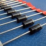 ELECTRONICS-SALON 10pcs SR51005Amp 100V Schottky rectificador Diodo, sb5100.