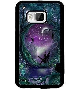 ColourCraft Heaven Garden Design Back Case Cover for HTC ONE M9